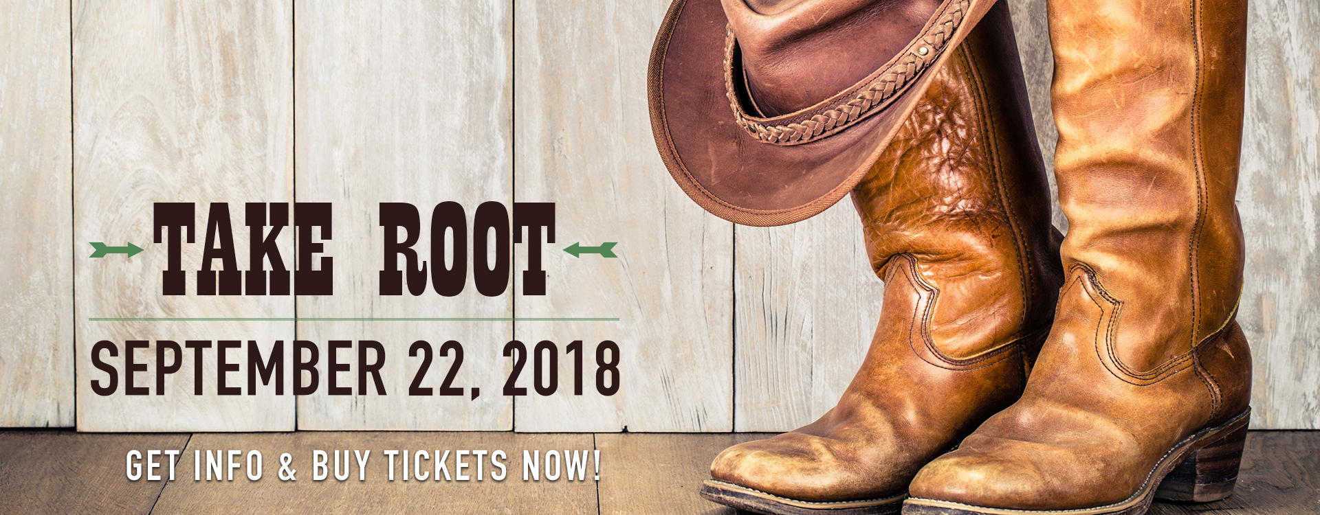 Take Root 2018 - Buy Tickets Now!